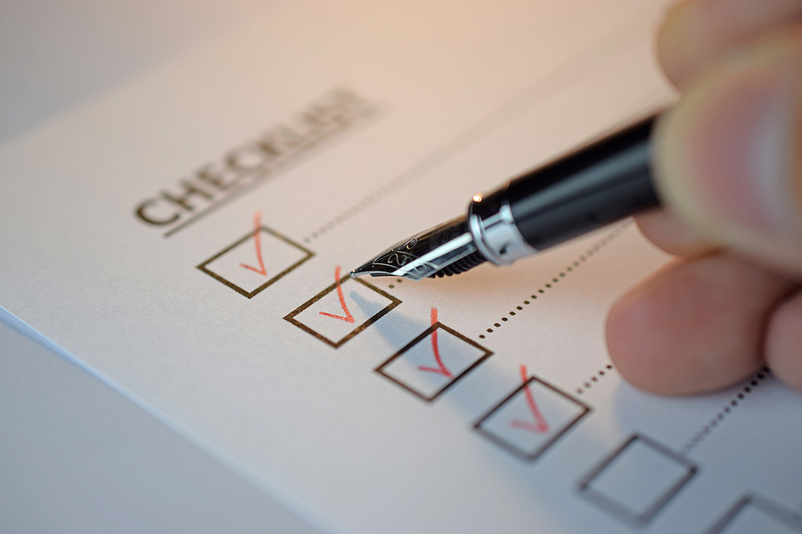 Pre-Roofing Checklist