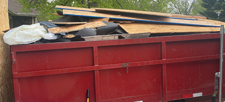 disposal of roofing materials